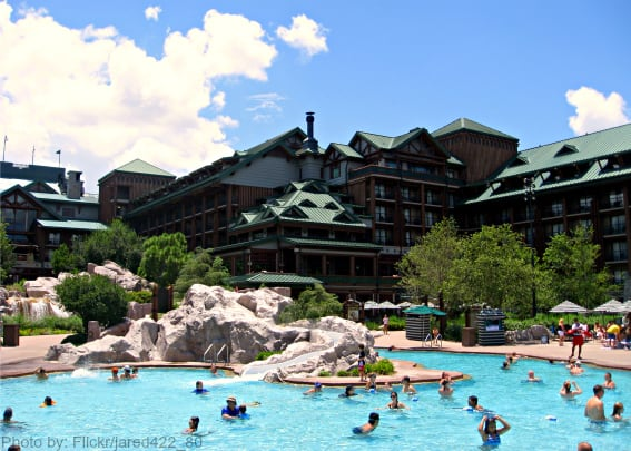 Top kid-friendly hotels in Orlando- Disney's Wilderness Lodge