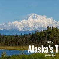 hiking in alaska with kids