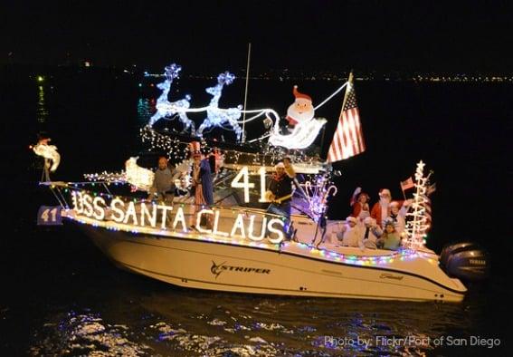 San Diego Harbor Parade of Lights Trekaroo