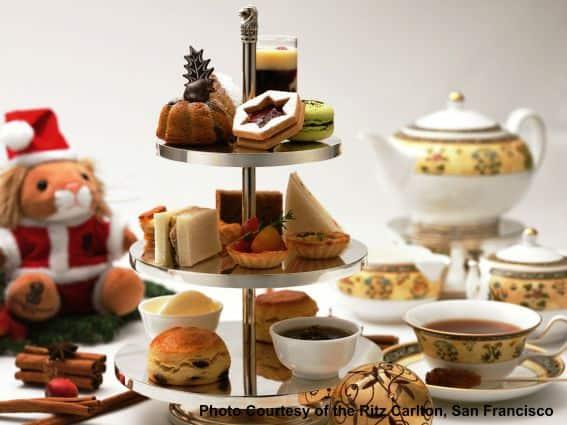 The Ritz-Carlton San Francisco - teddy bear tea