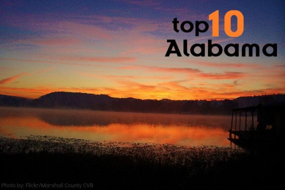 Top 10 things to do with kids in Alabama