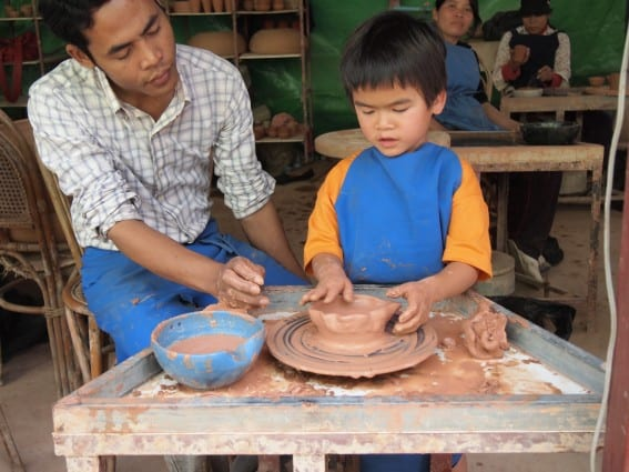 Cambodia with Kids offers unique learning experiences