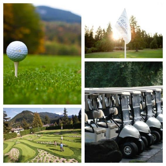 Kid friendly Lodging in Mt. Hood: Mt. hood Resort Oregon Golf Family