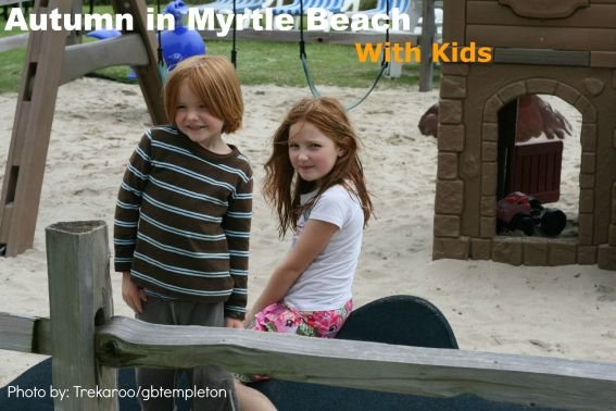 Beach Front Park in Myrtle Beach, SC with Kids