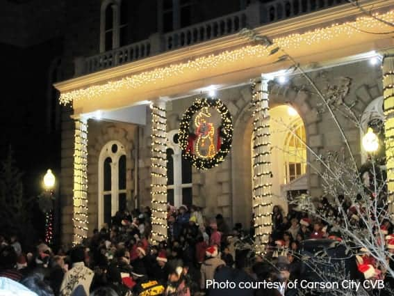 Family-friendly Holiday Cheer in Carson City, Nevada