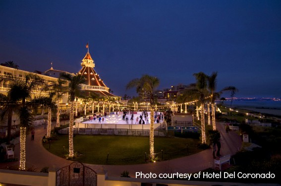 Hotel Del Ice Skating 2 San Diego Holiday Events