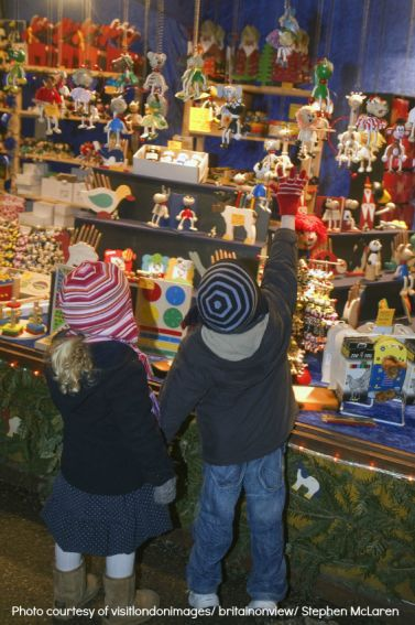 Christmas in London: London toys