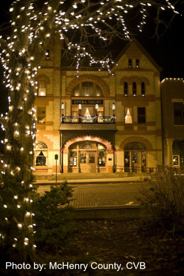 Woodstock Opera House in Woodstock, IL Photo by McHenry County CVB