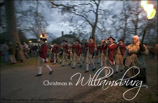 Spend the Holidays in Colonial Williamsburg