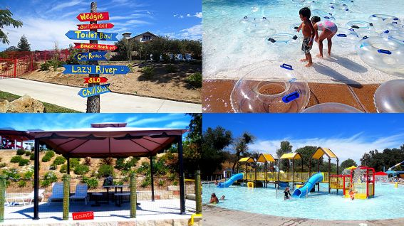 Ravine Waterpark of Paso Robles California