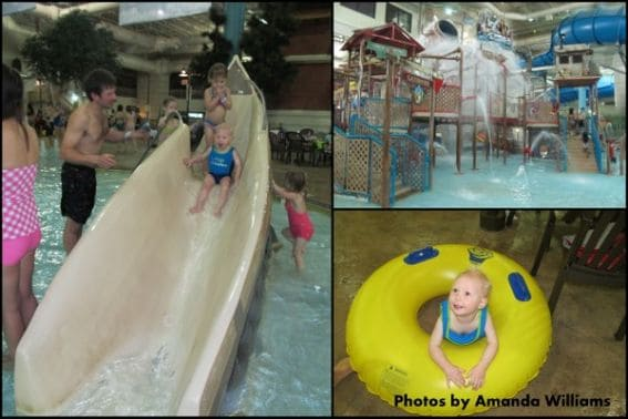 Waterpark of America mall of america with kids