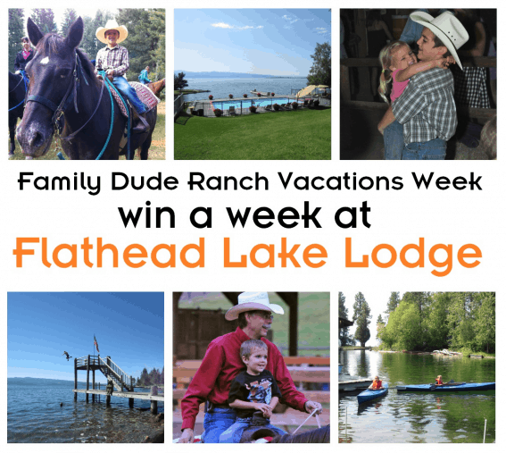 Flathead Lake Lodge Family Dude Ranch Vacations Giveaway
