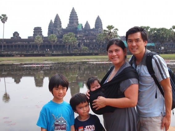 Thinking of ideas for global good? Our founders visit Cambodia with their family.