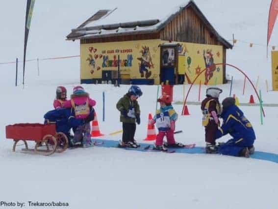Ski School-Arlberg, Austria