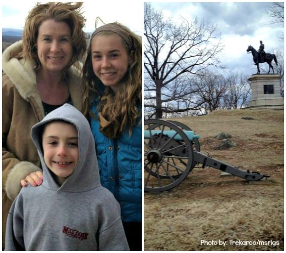 Gettysburg With Kids Battle