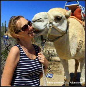 Camel Kiss los cabos with kids