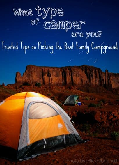 Tips on Selecting the Best Campground based on your family's adventure personality