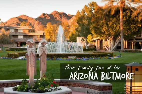 Enjoy Posh Family Fun at the Arizona Biltmore