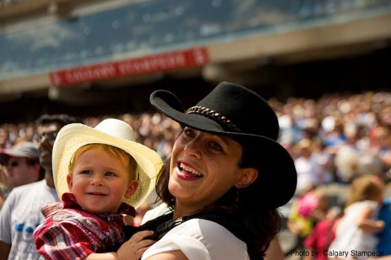 Enjoying the Calgary Stampede with Kids