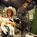 Calgary Stampede - kid and goat