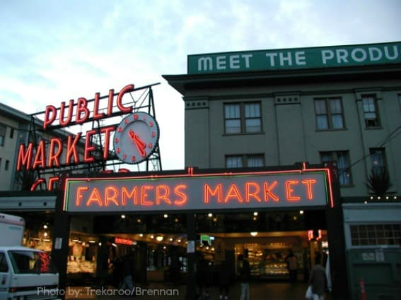 Top 10 Things for Families to do in Washington State: Pike Place Market Seattle, WA Photo by: Trekaroo/brennan
