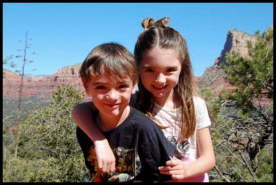 Sedona with kids