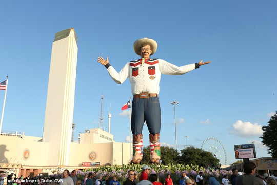 Top 10 things to do with families in texas big tex photo for Winter vacation spots in texas