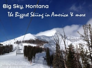 Winter Family Vacation in Big Sky