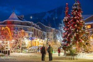 Whistler Village, B.C. Holidays