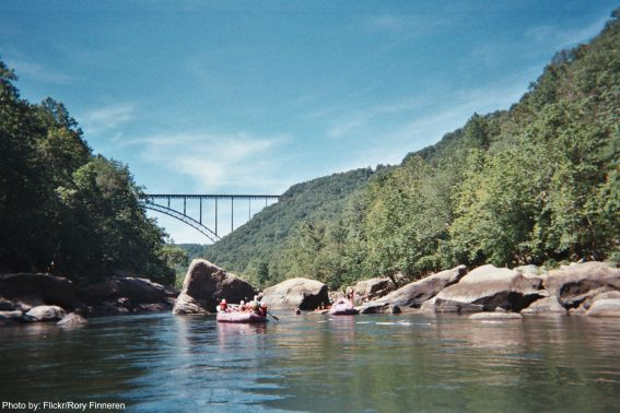 Rafting in West Virginia