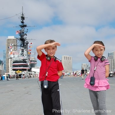 USS Midway Museum  Kids