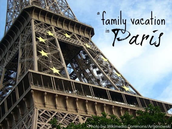 Family Vacation in Paris