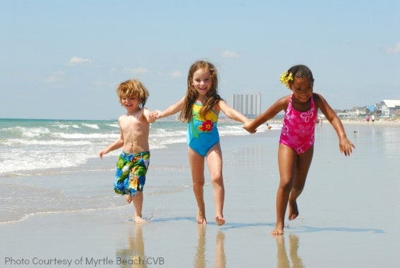 Kids on Myrtle-Beach