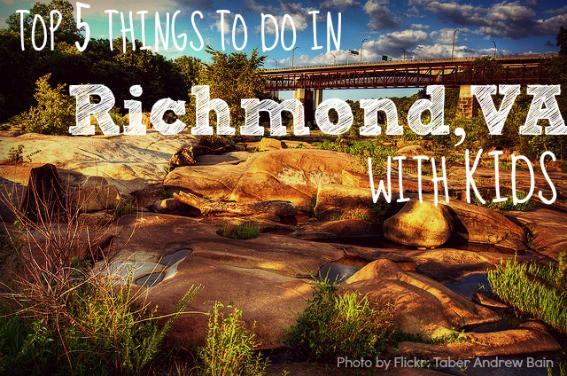 attractions activities richmond virginia