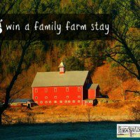 Win a family farm stay