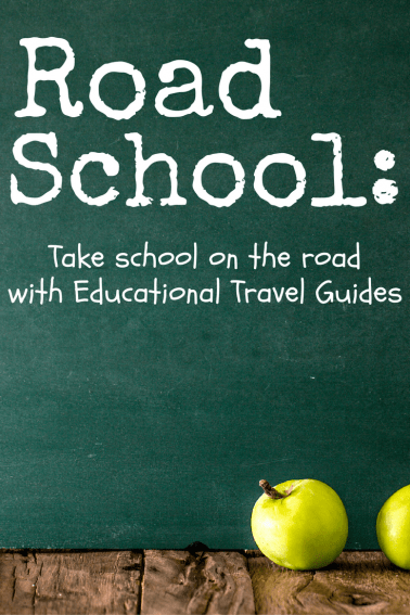 Take school on the road with Trekaroo's Road School Educational Travel Guides
