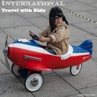 Kids international travel