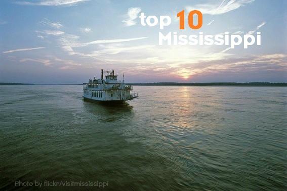 top 10 mississippi