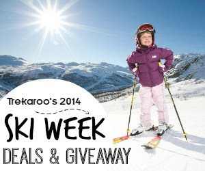 Trekaroo Ski Week Deals and Giveaway