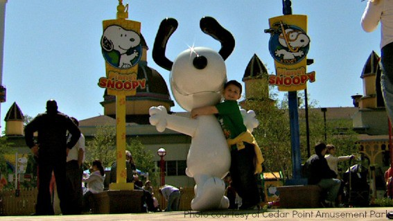 Cedar Point Amusement Park Camp Snoopy