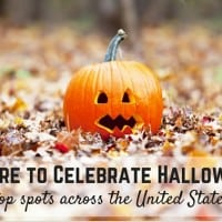 top spots to celebrate Halloween in the United States