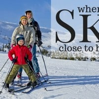 where to ski close to home