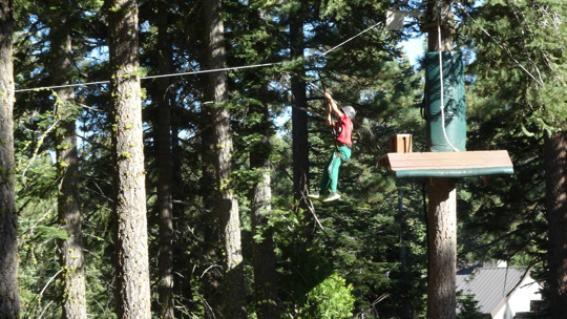 Treetop Adventure Park at Granglibakken