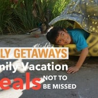 Daily Getaway Family Vacation Deals Event