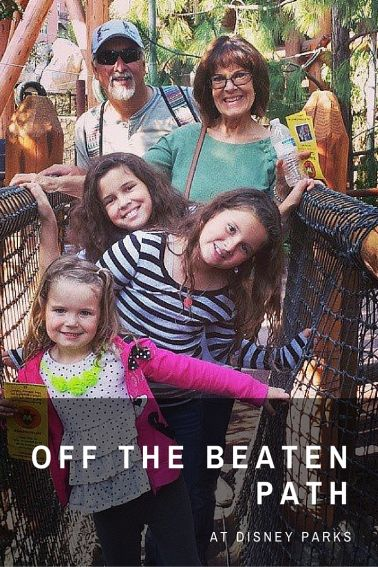 OFF THE BEATEN PATH at Disney Parks