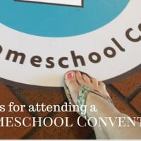 Tips for attending a Homeschooling convention