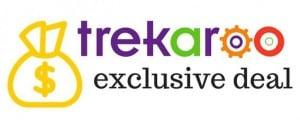 Trekaroo exclusive deal