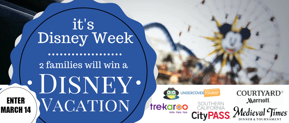 WIN A DISNEY FAMILY VACATION coming soon