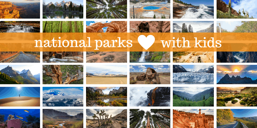 Exploring national parks with kids. Tips & tricks for exploring every national park across the United States.