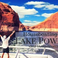 Houseboating on Lake Powell